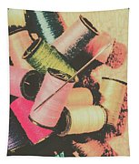 Old Fashion Threads Tapestry