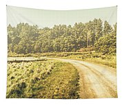 Old-fashioned Country Lane Tapestry