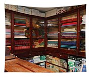 Old-fashioned Fabric Shop Tapestry