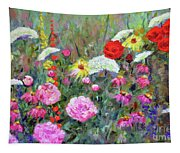 Old Fashioned Garden Tapestry