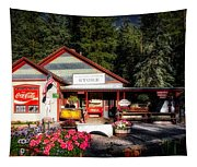 Old Fashioned General Store Tapestry