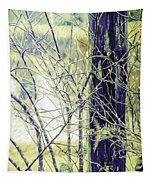 Old Fence Post Tapestry