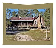 Old Florida Cracker Home Tapestry