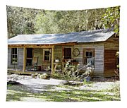 Old Florida Home Tapestry