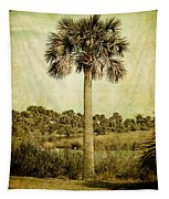 Old Florida Palm Tapestry