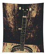 Old Folk Music Banjo Tapestry