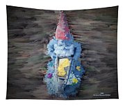 Old Garden Gnome Tapestry