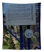 Old Geiger Grade Nevada Tapestry