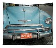 Old Havana Cab Tapestry