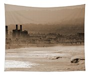Old Hermosa Beach Tapestry