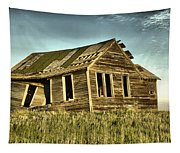 Old Home Falling In Tapestry