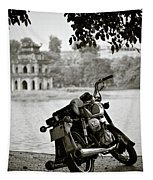 Old Honda In Hanoi Tapestry