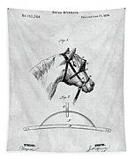 Old Horse Blinker Patent Tapestry