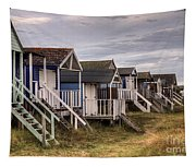 Beach Huts At Old Hunstanton Tapestry