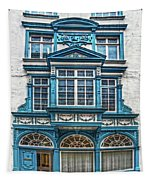 Old Irish Architecture Tapestry