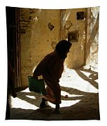 Old Lady Tangier. Tapestry