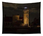 Old Mackinac Point Light, Mackinaw City Mi Tapestry