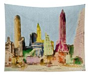Old Manhattan Tapestry