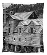 Old Mill Buildings Tapestry
