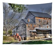 Old Mill Nelson County Virginia Tapestry