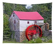Old Mill Of Guilford Squared Tapestry