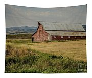 Old Montana Ranch Tapestry