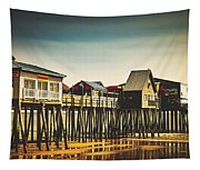 Old Orchard Beach Pier Tapestry