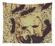 Old Outback Horrors Tapestry