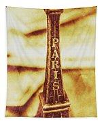 Old Paris Decor Tapestry