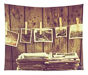 Old Photo Archive Tapestry