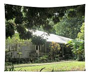 Old Plantation House Tapestry