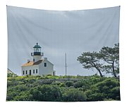 Old Point Loma Lighthouse Tapestry