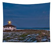 Old Port Boca Grande Lighthouse Tapestry