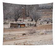 Old Ranch House Tapestry