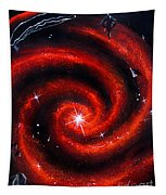 Old Red Spiral Galaxy Tapestry