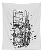 Old Rollie Vintage Camera T-shirt Tapestry