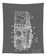 Old Rollie Vintage Camera White T-shirt Tapestry