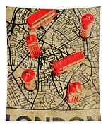 Old Routemaster Way Tapestry