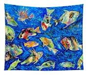 Old School Tapestry
