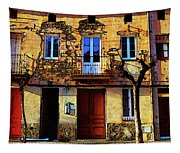 Old Semidetached Houses Tapestry