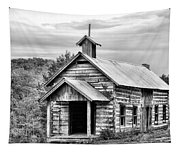 Old Time Religion Bw Tapestry
