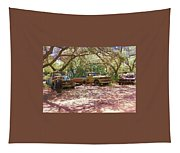 Old Time Trucks Tapestry