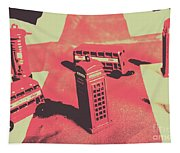 Old Tourism Uk Tapestry
