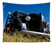 Old Truck Low Perspective Tapestry