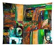 Old Trucks Tapestry