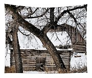 Old Ulm Barn Tapestry