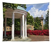 Old Well At Chapel Hill In Spring Tapestry