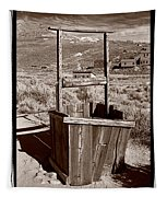Old Well Bodie Ghost Twon California Tapestry