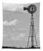 Old Windmill II Tapestry