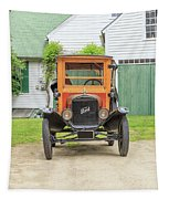 Old Woodie Model T Ford  Tapestry